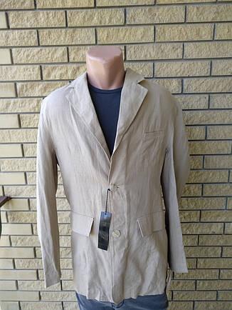 Пиджак мужской льняной FAMOUS, фото 2