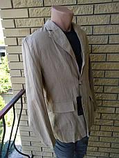 Пиджак мужской льняной FAMOUS, фото 3