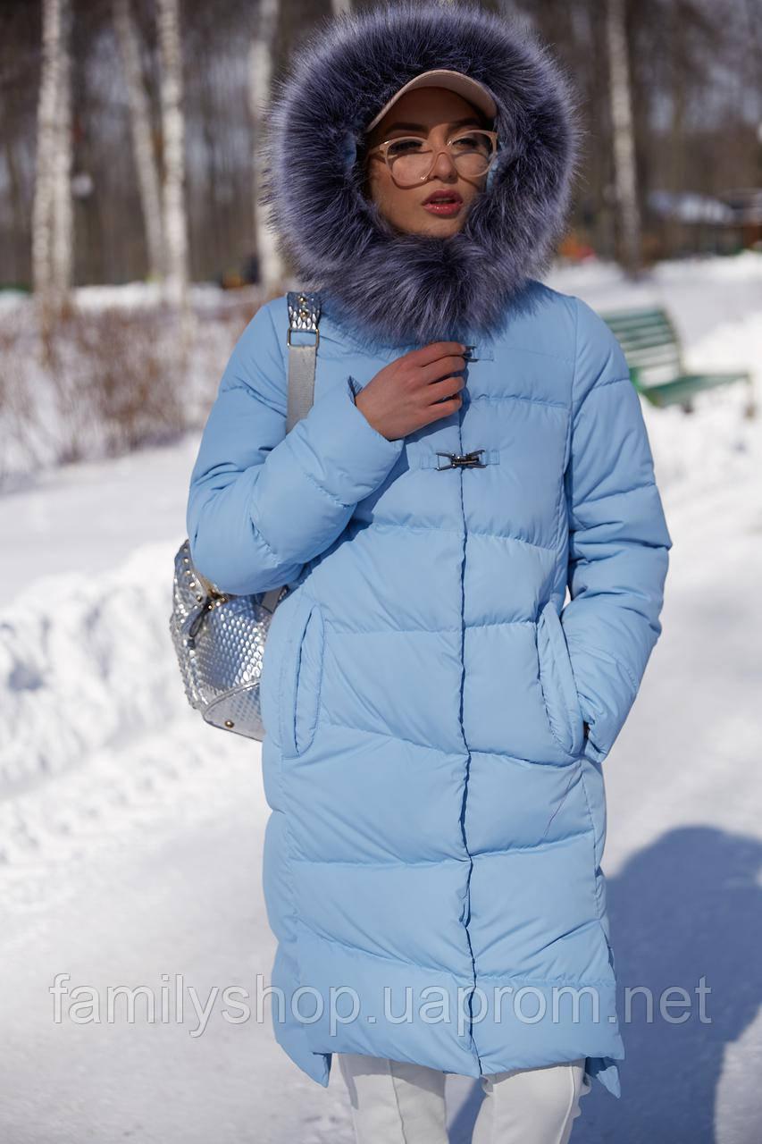 fc489cc4027 Зимнее женское пальто Бекки с мехом Нью Вери (Nui Very) - Интернет-магазин