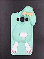 3d Чехол Бампер для Samsung Galaxy J5 2015 / J500  резиновый Кролик