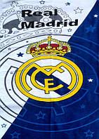 Полотенце пляжное велюр 75х150 Real Madrid