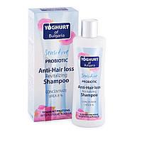 Шампунь от выпадения волос восстанавливающий c пробиотиком Yoghurt of Bulgaria 230 мл