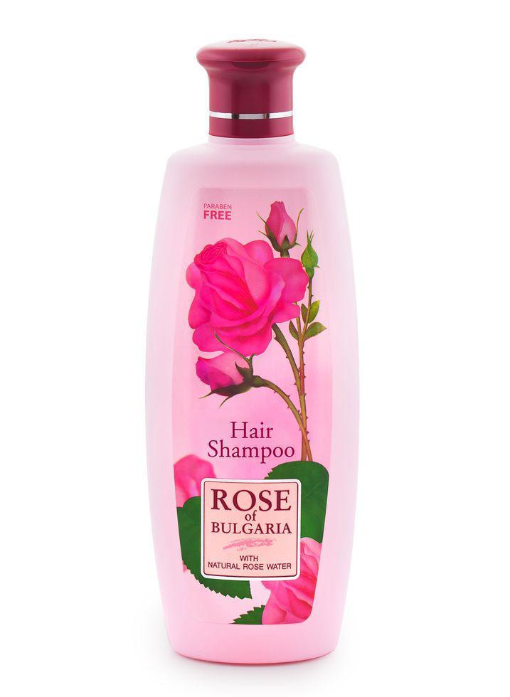 Тонизирующий шампунь для всех типов волос Биофреш  Rose of Bulgaria 330 мл