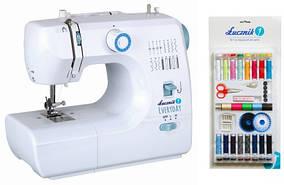 Швейная машинка Lucznik EveryDay + набор из 58 швейных принадлежностей