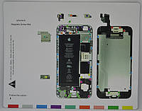 Магнитный Винт Коврик для разборки IPhone 6 (20 x 25 см)