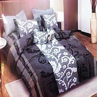 Комплект постельного белья  поплин хлопок двухспальный 1/8х210