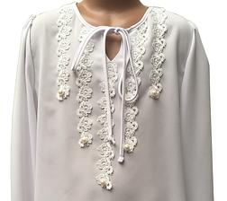 Шкільна блуза для дівчинки, фото 2