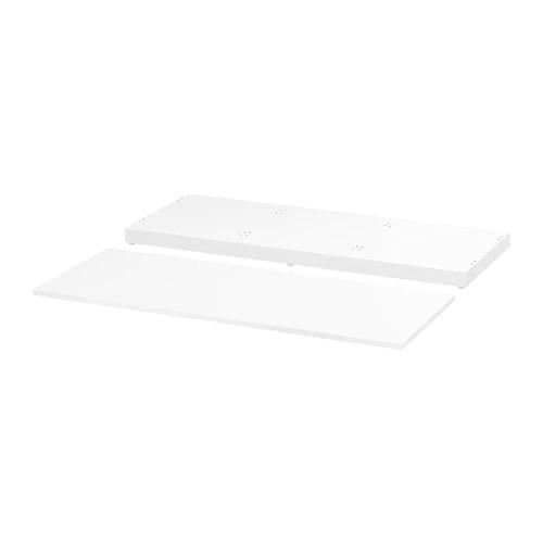 Верхняя панель и цоколь для модульного комода IKEA NORDLI 120x47 см белый 403.834.74