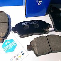 Колодки тормозные передние Geely MK/ MK-Cross/ BYD F3/ Toyota (Mando, Корея)