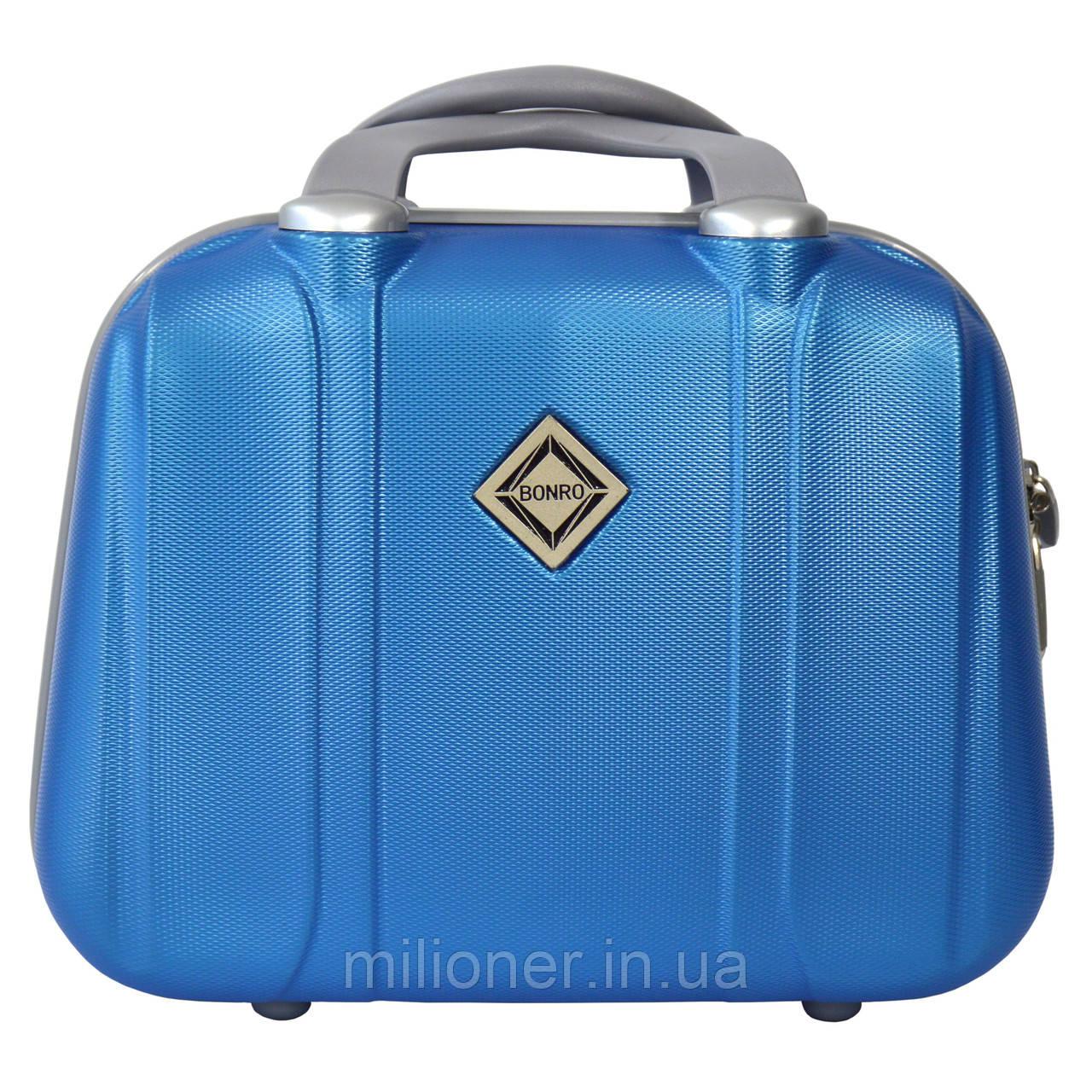 Сумка кейс саквояж Bonro Smile (небольшой) светло синий (blue 656)