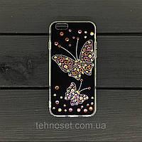 Чехол-накладка YOUNICOU Бабочка Swarowski для Xiaomi Redmi 5 черный