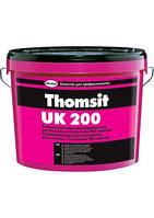 Thomsit UK 200, 14 кг универсальный водно-дисперсионный клей для ПВХ и текстильных покрытий