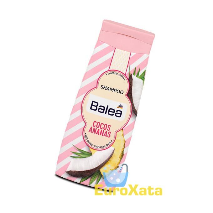 Гель для душа BALEA Cocos & Ananas 300 мл (Германия)