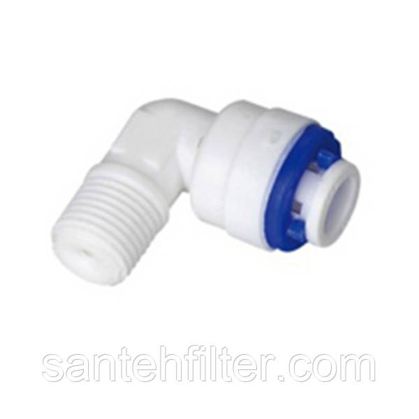 Обратный клапан угловой пластиковый