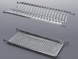 Сушка нержавейка для посуды 600 мм