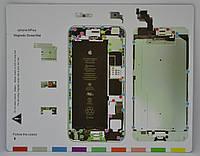 Магнитный Винт Коврик для разборки IPhone 6 Plus (20 x 25 см)
