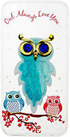 Чехол-накладка TOTO TPU Case Decorative Stones IPhone 6 Plus/6S Plus Owls Cold Ice, фото 1