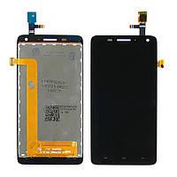 Дисплей для LENOVO S660 с чёрным тачскрином