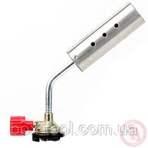 Пальник газовий регулятор, сопло D=30мм INTERTOOL GB-0025, фото 2