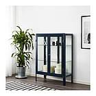 Шкаф-витрина IKEA FABRIKÖR 81x113 см синий 003.631.71, фото 3