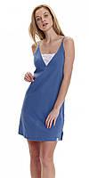 Нічна сорочка жіноча DOBRANOCKA 9418, бавовна Польща, розміри S (наш44), M (наш 46), фото 1