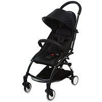 Детская прогулочная коляска Бамби Йога Bambi Yoga M 3548-2 черная (разные цвета).