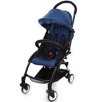 Детская прогулочная коляска Бамби Йога Bambi Yoga M 3548-4 синяя (разные цвета).