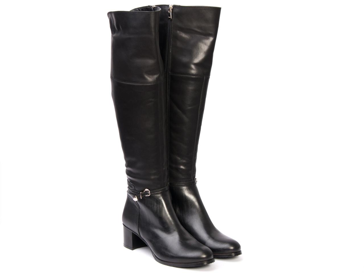 Сапоги Etor 4634-3551 черные