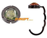 SALE! Вешалка для сумочки №A11-2(коричневый,зеленый)