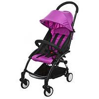 Детская прогулочная коляска Бамби Йога Bambi Yoga M 3548-9-2 фиолетовая (разные цвета).