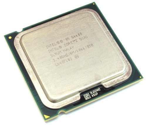 Процессор для ПК Intel Core 2 Quad Q6600, 775, 4 ядря по 2.4 ггц!