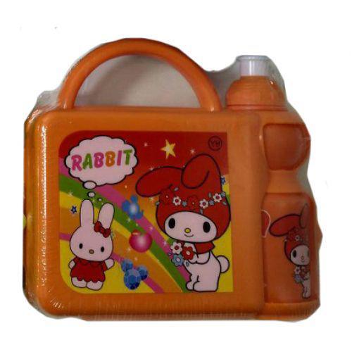 Набор для ланча детский (бокс+поилка) J00148 Orange