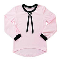 Школьная блуза для девочки с длинным рукавом оптом