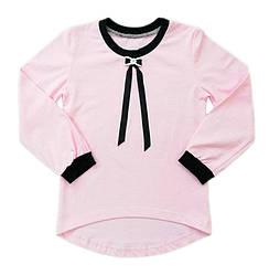 Шкільна блуза для дівчинки з довгим рукавом оптом
