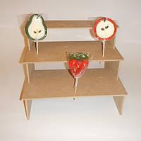 Подставка для конфет, кексов, капкейков заготовка для декупажа и декора