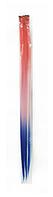 Цветные пряди на заколках №3,  50  см, фото 1