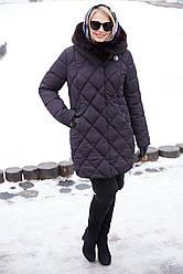 Зимнее женское пальто большого размера Валенсия Нью Вери (Nui Very)