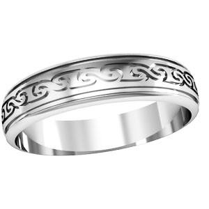 Кольцо обручальное Wedding day 750060