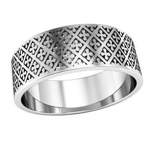 Кольцо обручальное Благословение 750130