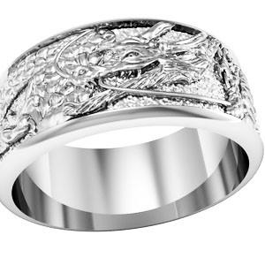 Кольцо обручальное Дракон 750280