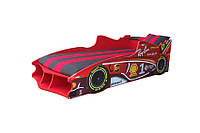 Кровать машина Формула 1 красная
