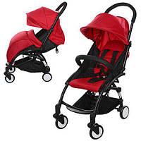 Детская прогулочная коляска Бамби Йога Bambi Yoga M 3548-3 красная (разные цвета).