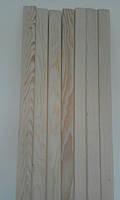 Деревянные Наличники Евро Плоский (смерека,ель) от Производителя  50*12*2200мм Цельный