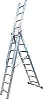 Лестница 3-секционная ELKOP VHR 3*9 (Бесплатная доставка!)