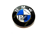 Эмблема BMW на штифте (d- 82мм, s(толщина)-5мм+8мм штифт)