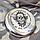 Фляга из пищевой нержавеющей стали с гравировкой на заказ, фото 3