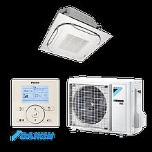 Кассетный инверторный кондиционер Daikin FCAG35/RXS35 R410 (высокоэффективный)