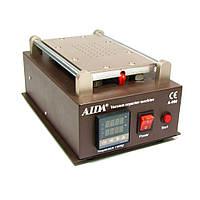 """Сепаратор 8.5"""" (19 х 11 см) AIDA A-988 со встроенным компрессором для вакуумного способа фиксации стекла"""