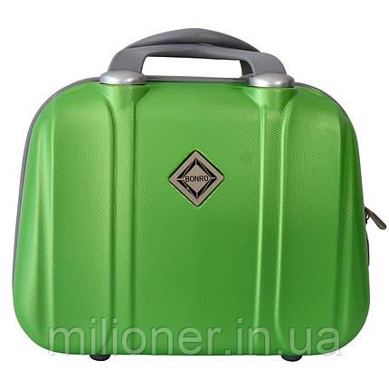 Сумка кейс саквояж Bonro Smile (середній) зелений (green 696), фото 2