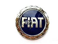 Эмблема Fiat Albea синяя на двухстороннем скотче (d-75мм, s-5мм)